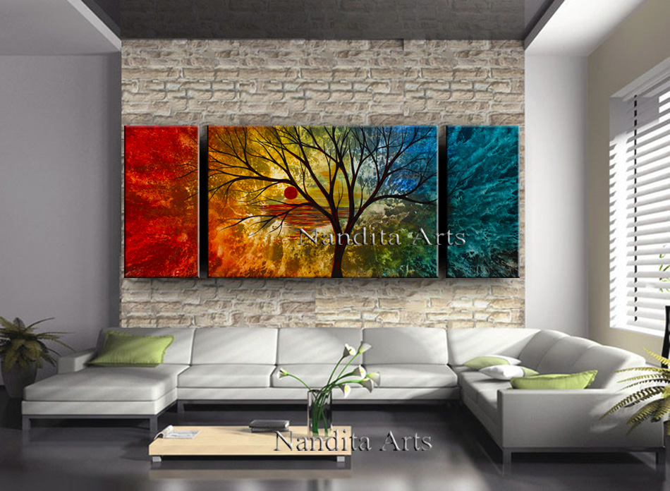 Landscape wall art decor