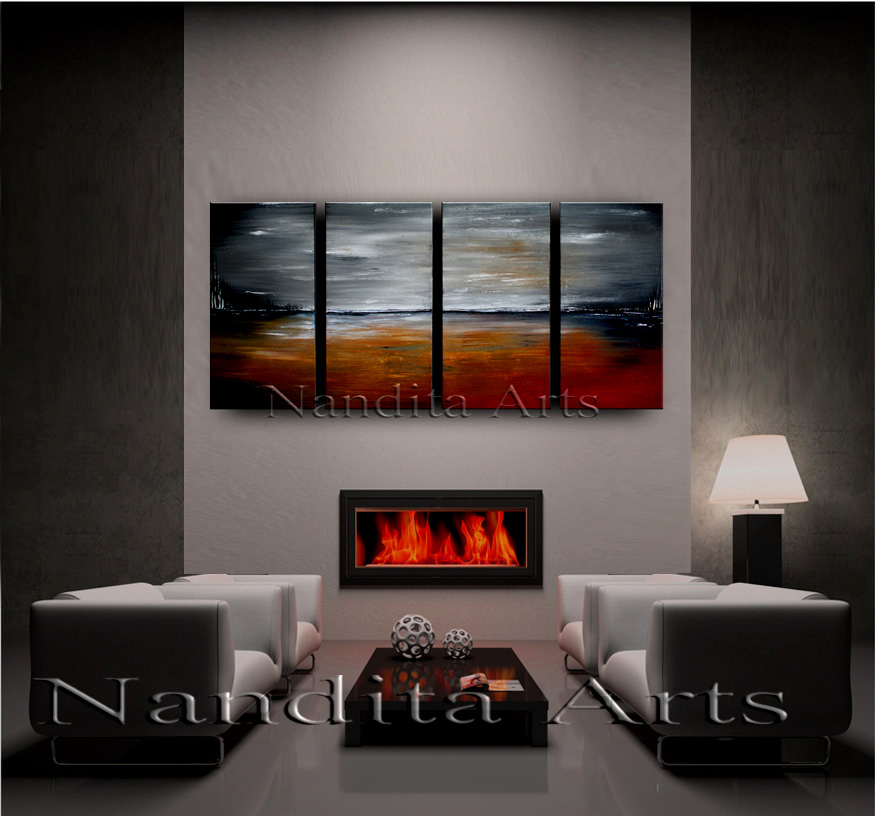 A Full Life 2   online gallery   Painting by Dallas Artist nandita Albright