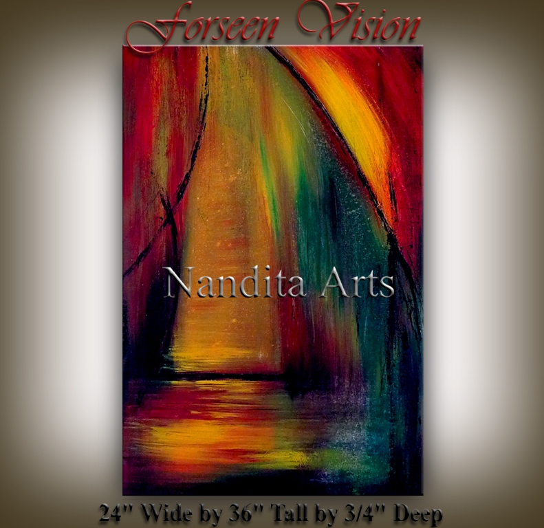 Foreseen Vision online artwork paintings by Nandita Albright