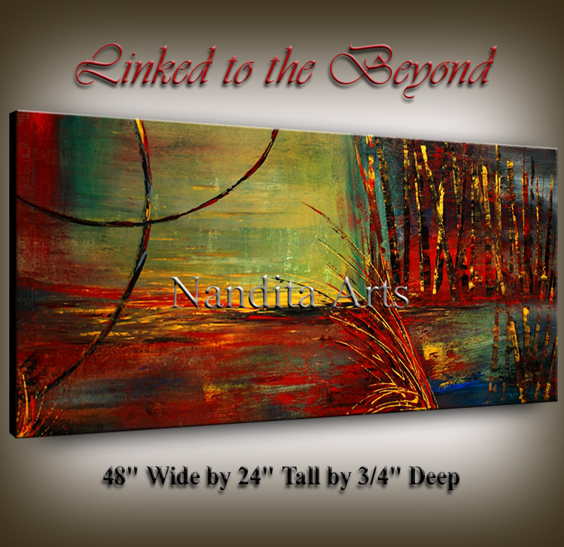 Linked to the Beyond | Online Gallery | Painting | Art by Nandita Albright