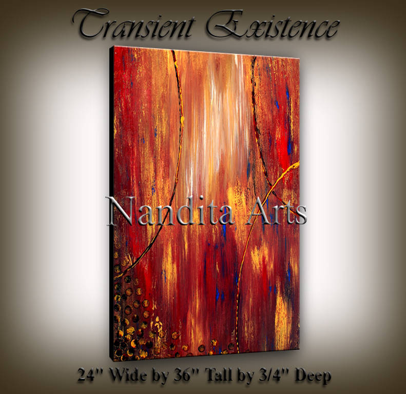 Transient Existence artwork onling paintings by Nandita Albright