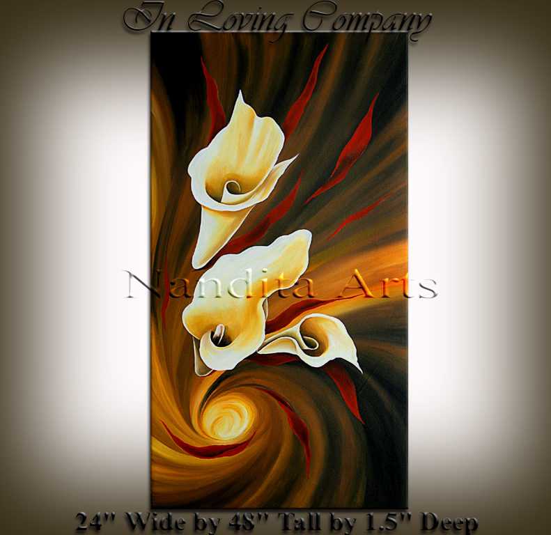 In Loving Company Original art by Nandita Albright
