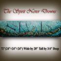 The Spirit Never Drowns Ocean coi fish artwork by Nandita Albright