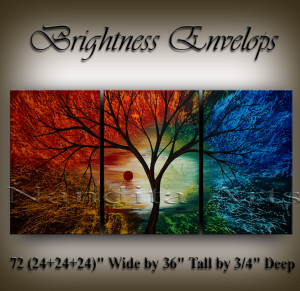 Landscape Arts Brightness Envelops