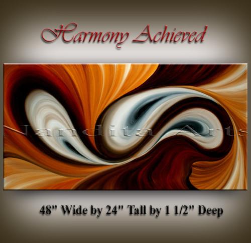 Modern Painting Harmony Achieved Modern Paintings