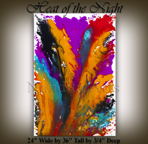 Beautiful Painting Heat of the Night Beautiful Painings