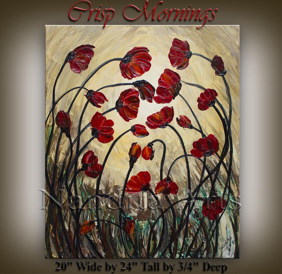 flower art red, contemporary flower art