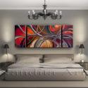 Large modern art Crossing Paths modern paintings