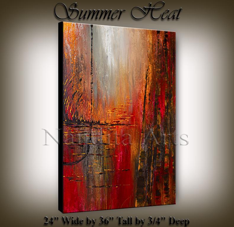 modern red art modern Paintings
