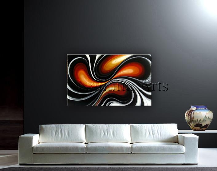 Sofa Abstract Modern Art White Heat Modern arts
