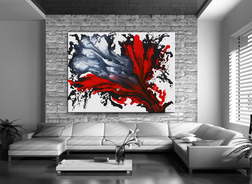Red Painting, Canvas art