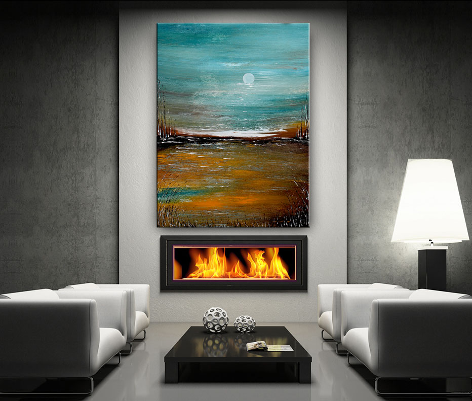Original Art Gallery, Landscape Painting by Nandita Albrght