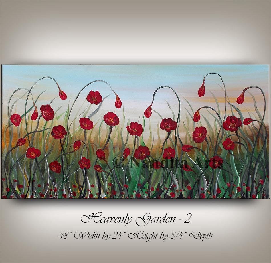 Flower Art Heavenly Garden