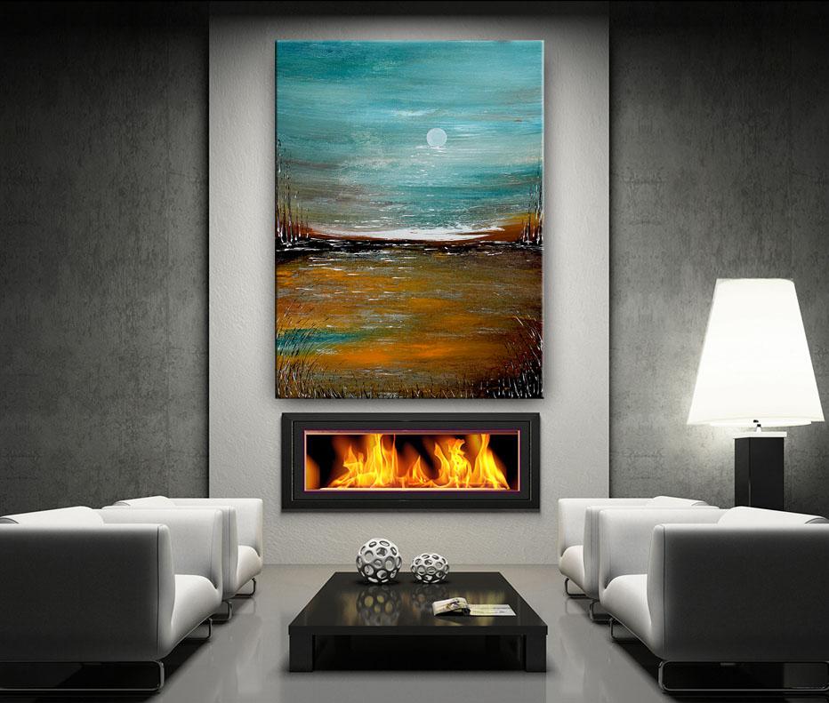 Original Art Gallery, Landscape Painting by Nandita Albrght