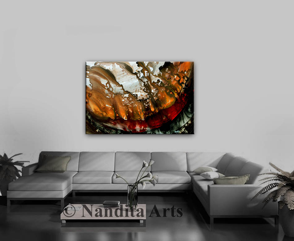 Black Art,Art,Red and Black Art, Painting,Modern Art, Modern Artwork,Large modern painting