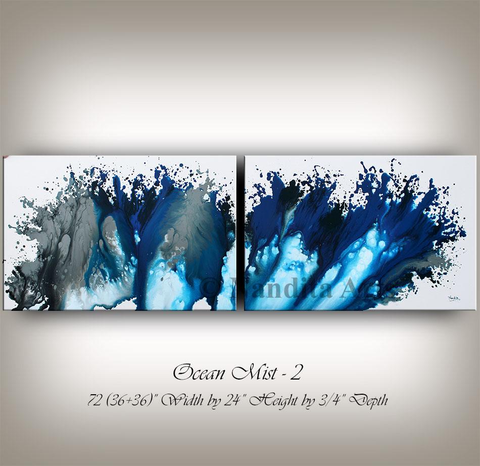 Ocean Mist 2 Original Modern Art