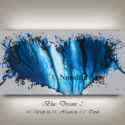 Large Blue Painting, Artwork, Wall ART