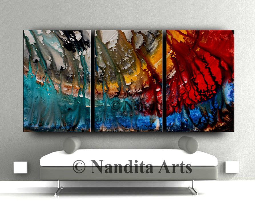 Abstract Painting, Abstract Art, Wall art by Nandita Albright