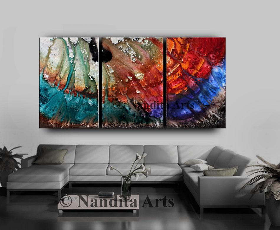 Modern Art, Modern painting, Original art by Nandita Albright