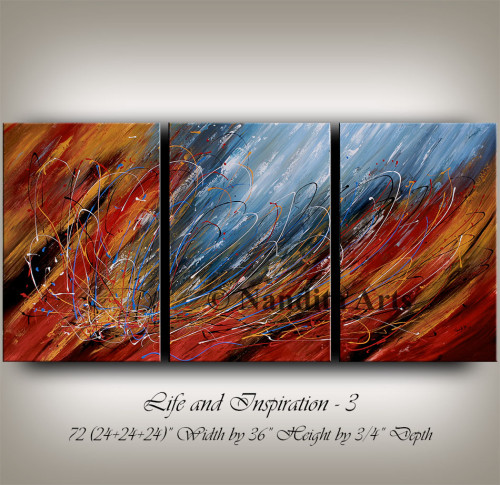 Large Painting, Abstract Painting, Wall art