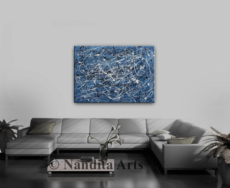 Blue artwork, Blue, Blue Art, Blue Painting