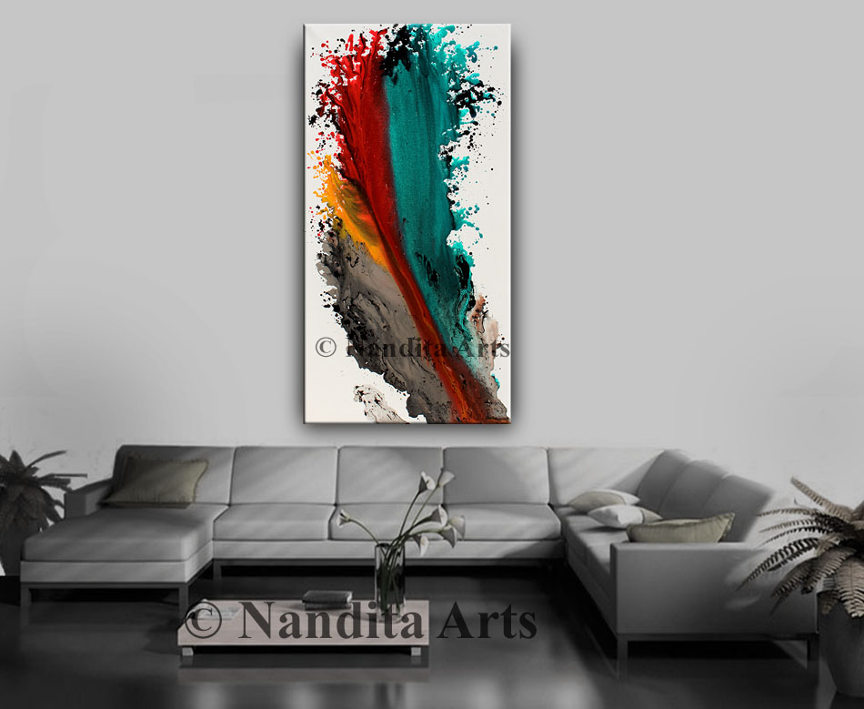 Ocean Modern Painting, Art