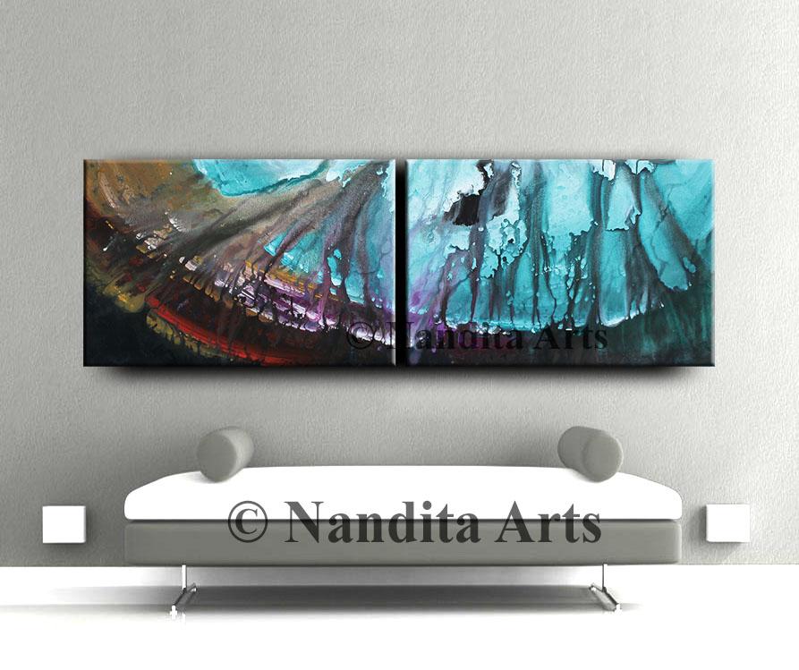 Ocean Modern Art, Original Painting