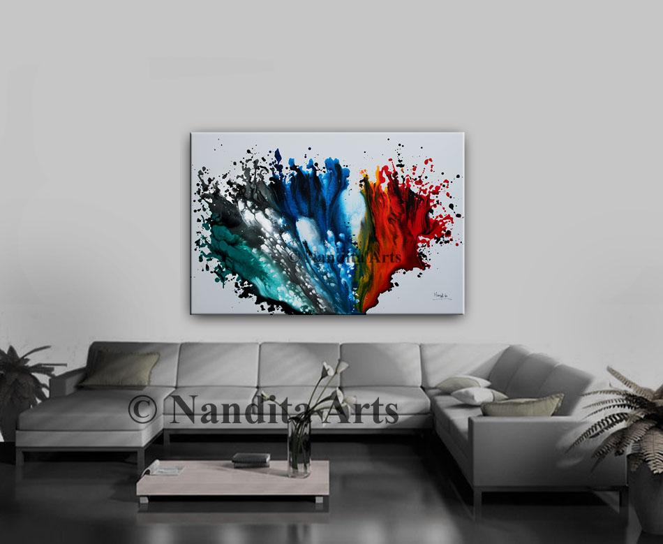 Modern Painting, Wall Art Gallery