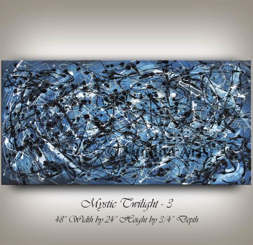 Blue, Blue Artwork, Blue Abstract Art