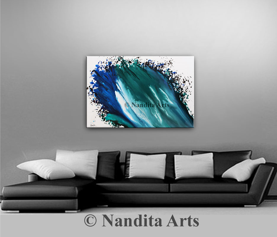 Turquoise Art, Turquoise wall art