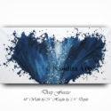 Blue, Blue Art, Blue Artwork, Blue Painting