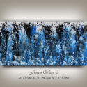 Blue Original Artwork, Abstract Painting Home Decor