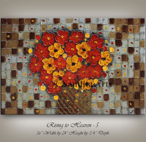 Flower Art For Sale