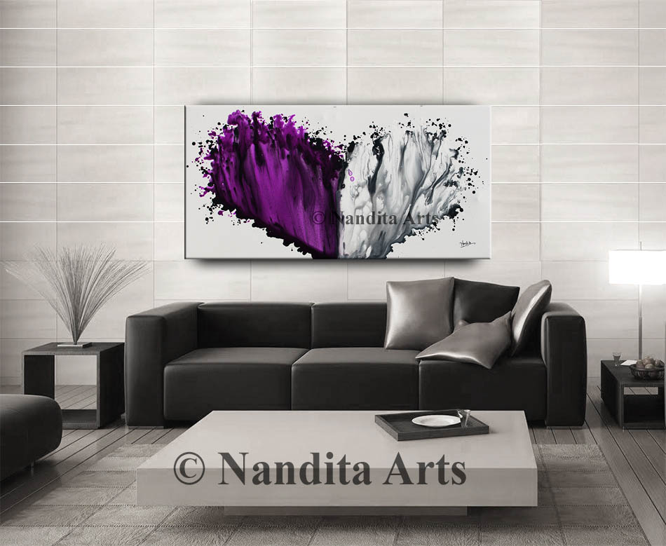 Purple, Purple modern art
