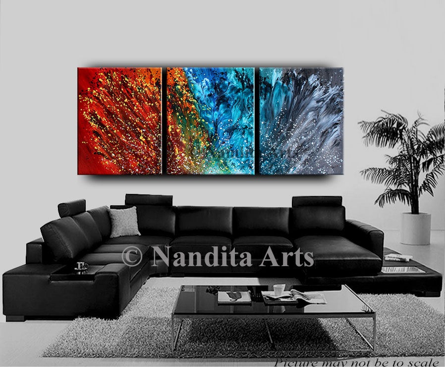 Modern fine art, modern art gallery