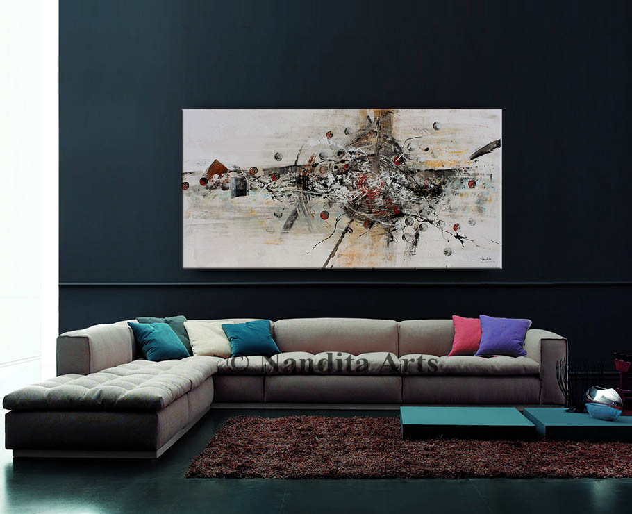 Abstract Painting by Nandita Albright