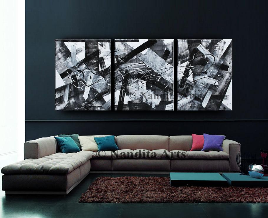 Black and White Minimalist Art