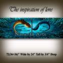 wall art The Inspiration of Love seascape art by Nandita Albright
