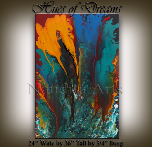 abstract art gallery Modern-Art-Hues-of-Dreams