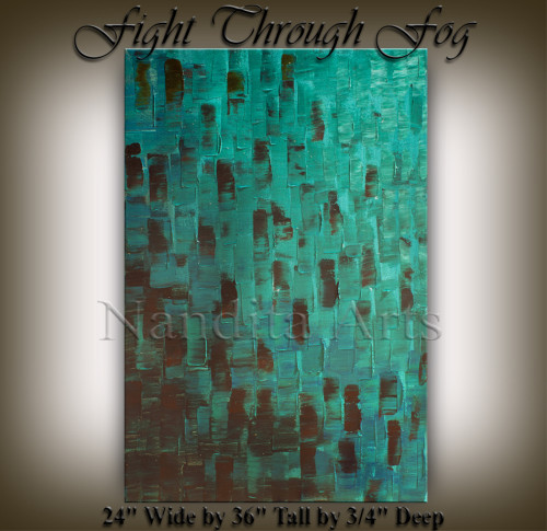 Texture Art Fight Through Fog S