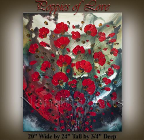 Poppy Painting Poppies of Love Poppies Art