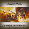 music-art-print-autumn-notes-music painting