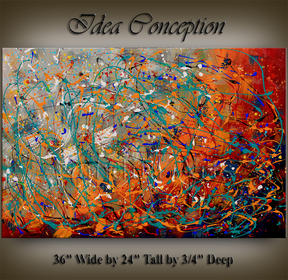 Abstract Painting Idea Conception Abstract Paintings