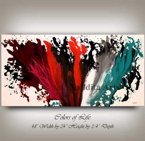 Full of color paiting Colors of Life