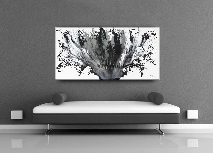 Black Painting Artwork Twisted Mind