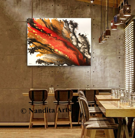 Modern Art Gallery by Nandita Albright