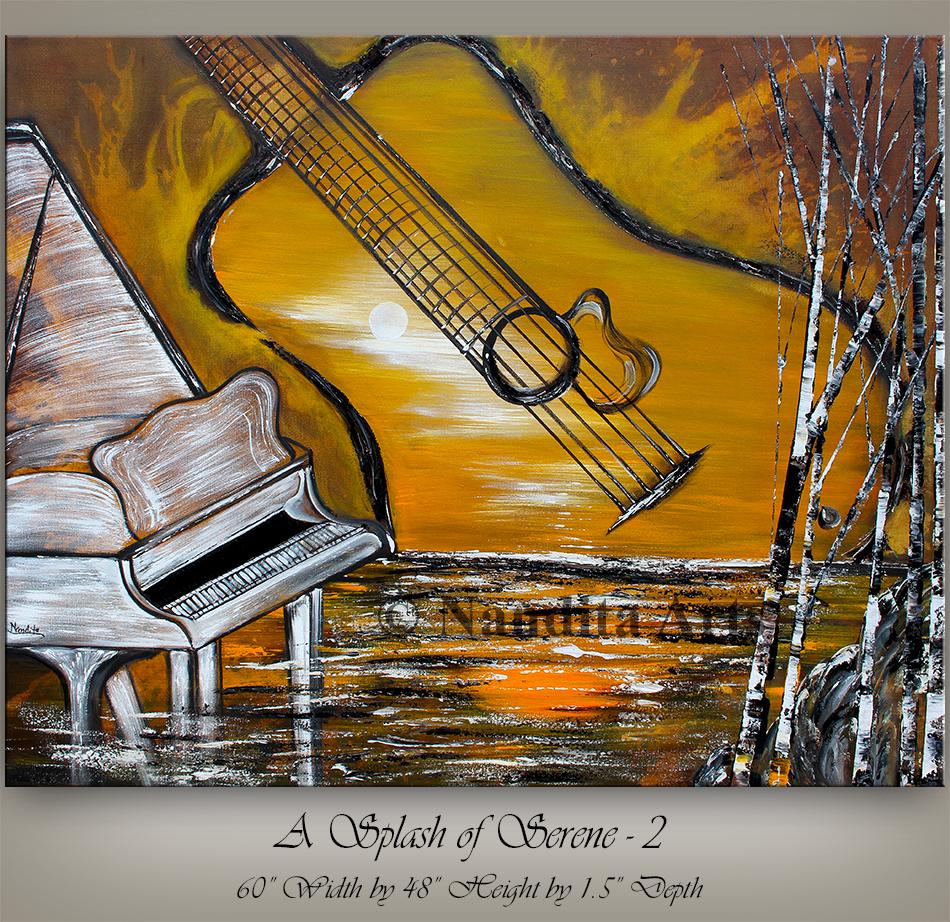 Music Art A Splash of Serene 2(1)