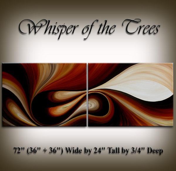 oil painting Whisper Of The Trees, modern oil paintings of flowers