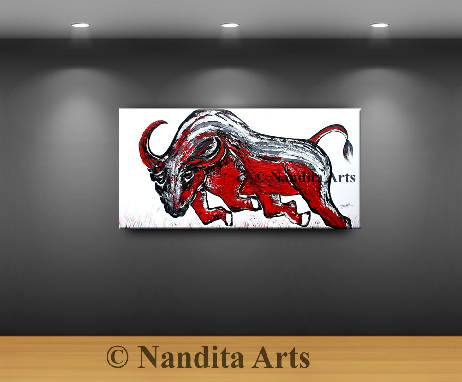 bull, bull art, bull new york stock