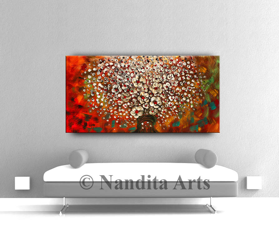 Abstract modern art paintings